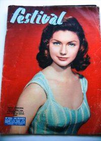 Vintage Magazine 1958 Sylva Koscina