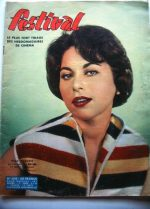 Vintage Magazine 1959 Haya Harareet