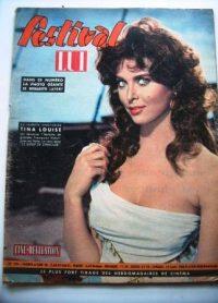 Old 1960 Mag Tina Louise Orson Welles Bernadette Lafont