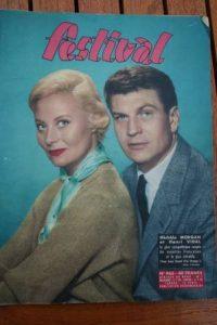 Magazine 1958 Michele Morgan Yoko Tani Line Renaud