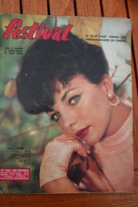59 Joan Collins Martine Carol Dario Moreno Leslie Caron