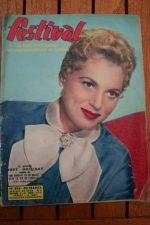 1957 Magazine Judy Holliday Jean Seberg Boschero
