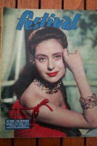 1957 Magazine Caterina Valente Tab Hunter Natalie Wood