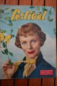 1957 Magazine Jill Dixon Rock Hudson Martha Hyer