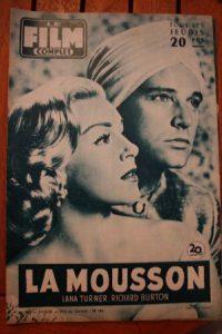 Lana Turner Richard Burton Fred Mac Murray Martha Hyer