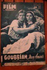 1956 Jean Marais Delia Scala Goubbiah Rory Calhoun