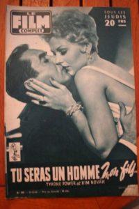 1956 Tyrone Power Kim Novak Victoria Shaw Jane Russell