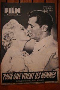 1956 Robert Mitchum Olivia De Havilland Frank Sinatra