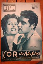 1956 Sophia Loren Oro Di Napoli Kim Novak