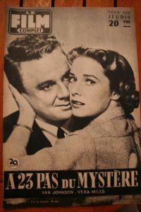 1957 Vera Miles Van Johnson Richard Widmark Jean Seberg