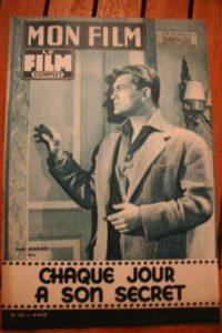 1958 Jean Marais Daniele Delorme Rock Hudson