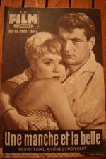 1958 Mylene Demongeot Henri Vidal Doris Day Dany Robin