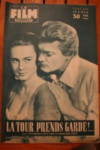 1958 Jean Marais Cathia Caro Anouk Aimee