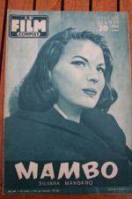 1955 Silvana Mangano Michael Rennie Mambo Spencer Tracy
