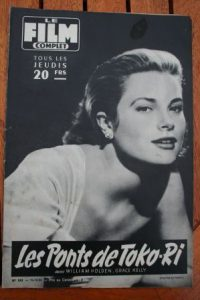 Grace Kelly William Holden Bridges Toko Ri Lana Turner