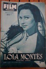 Martine Carol Peter Ustinov Lola Montes Edmond O'Brien
