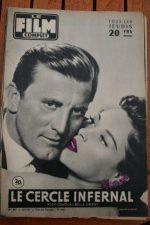 1956 Kirk Douglas Bella Darvi The Racers Audrey Hepburn