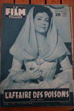1956 Danielle Darrieux Viviane Romance Charlton Heston