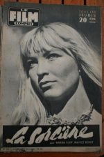 1956 Marina Vlady Maurice Ronet Sorciere Gilbert Becaud
