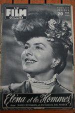1956 Ingrid Bergman Jean Marais Elena James Dean