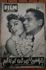 1956 Sheree North Tom Ewell Rita Moreno Fernand Raynaud