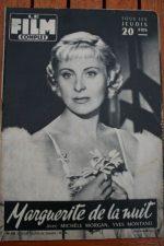 1956 Michele Morgan Yves Montand Robert Mitchum