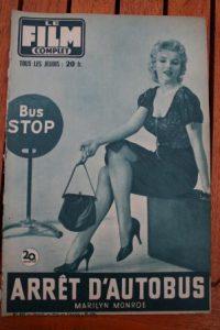 1957 Original Mag Marilyn Monroe Bus Stop Lana Turner