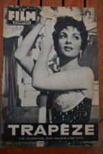 57 Gina Lollobrigida Burt Lancaster Trapeze Raf Vallone