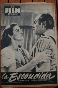 1957 Maria Felix Escondida Antonella Lualdi Carletti