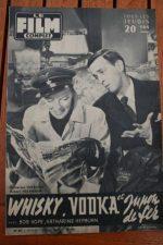 1957 Katharine Hepburn Bob Hope Francois Perier