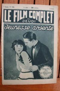 1926 Colleen Moore Milton Sills Ben Lyon Flaming Youth