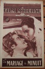 1948 Alida Valli Massimo Serato
