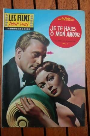 1961 Lana Turner Kirk Douglas Walter Pidgeon +200 pics