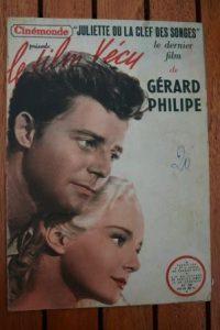 1948 Vintage Magazine Gerard Philipe