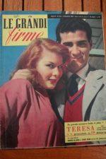 54 Magazine Pier Angeli John Ericson Teresa Liz Taylor
