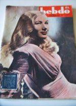 1945 Veronica Lake French Fashion - Mode 1945