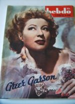 1946 Greer Garson Walter Pidgeon Mrs Miniver