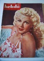 1946 Lana Turner Saludos Amigos Walt Disney Hedy Lamarr