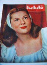 1946 Joan Fontaine Georges Guetary Ingrid Bergman