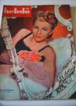 1947 Joan Fontaine Ingrid Bergman French Fashion Mode