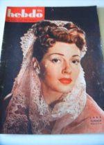 1947 Lana Turner Lucille Ball Reggiani French Fashion