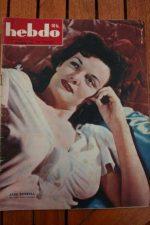 1947 Vintage Magazine Jane Russell Lilli Palmer