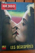 1959 Dirk Bogarde Mai Zetterling Desperate Moment +200p