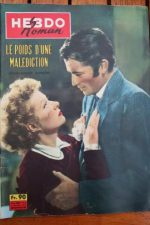 1959 Gregory Peck Greer Garson Valley of Decision +200p