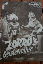 Original Prog Zorro Reed Hadley Budd Buster John Merton