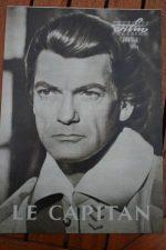 Original Prog Jean Marais Bourvil Le Capitan
