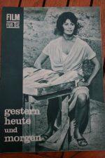 Original Prog Sophia Loren Marcello Mastroianni