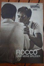 Original Prog Alain Delon Rocco Et Ses Freres