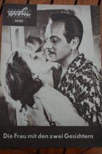 Vintage Prog Greta Garbo Melvyn Douglas Two Faced Woman