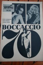 Original Prog Anita Ekberg Sophia Loren Romy Schneider